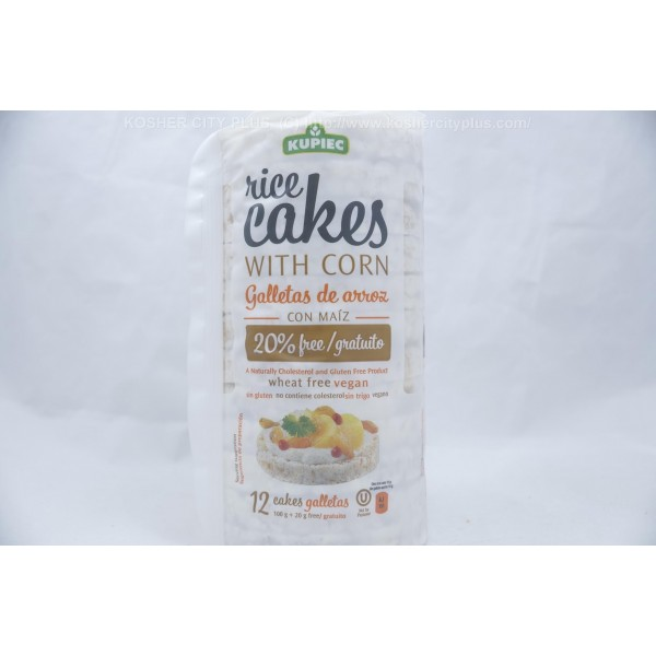 Rice Cakes With Corn Gluten Free Wheat 12