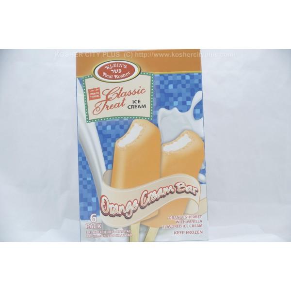 Chocolate Orange Creams Dunmore Candy Kitchen: Klein's Orange Shebert With Vanilla Orange Cream Bar