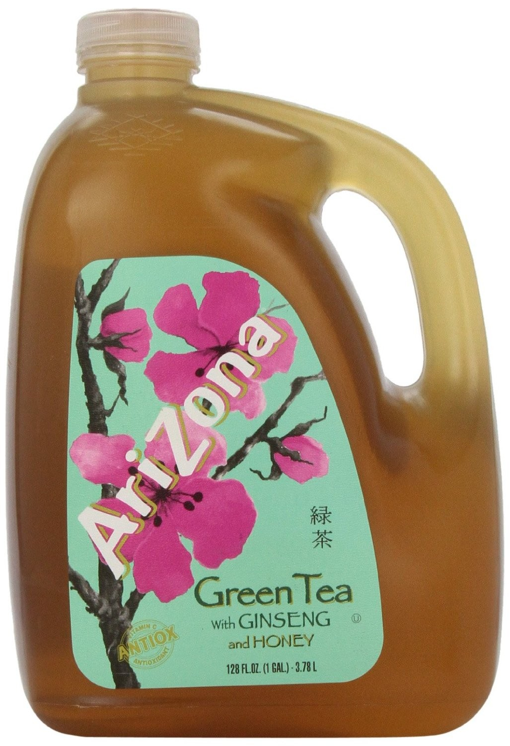 Arizona Green Tea With Ginseng And Honey 3 78l