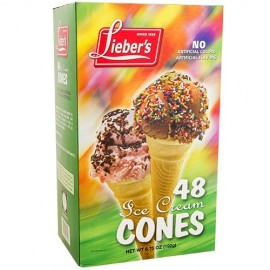 Lieber's Ice Cream Cone 48 (192g)