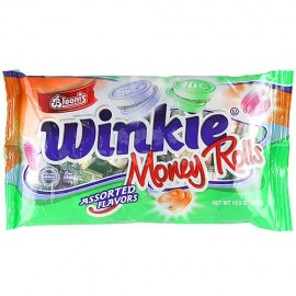 Bloom's Winkie Money Rolls Candy Assorted Flavors 297g