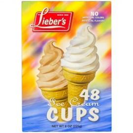 Lieber's Ice Cream Cups 48 (225g)