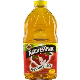 Nature's own Apple juice 1.89Lt