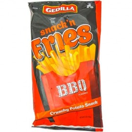 Gedilla Snack n Fries BBQ 142g