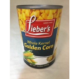 Lieber's Whole Kernel golden Corn 432g