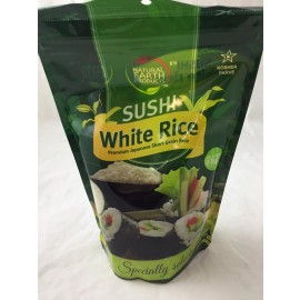 Natural Earth Sushi White Rice Specially Selected 1Lb