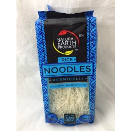 Natural Earth Rice Noodles vermecelli  Vegan Gluten Free 250g