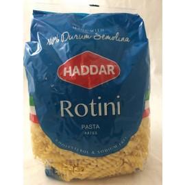Haddar Pasta Rotini 100% Durum Semolina 454g