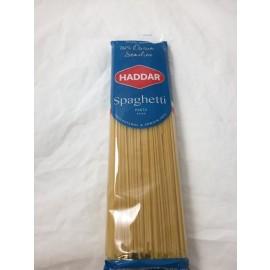 Haddar Pasta Spaghetti 100% Durum Semolina 454g