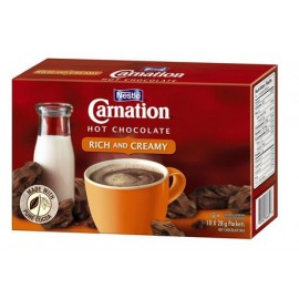 Nestle CArnation hot Chocolate Rich and Creamy 10*28g