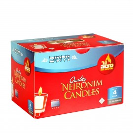 Ner Mitzvah Neronim Candles 4hour 72counts