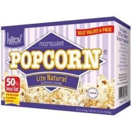 Kitov Microwave Lite Natural Popcorn 6 3.5 oz bags 21 oz 594g