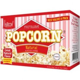 Kitov Microwave Natural Popcorn 6 3.5 oz bags 21 oz 594g