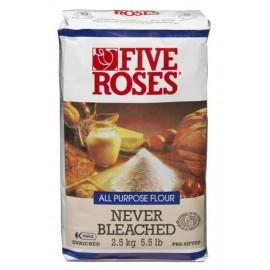 Five Roses Flour Unbleached 5kg