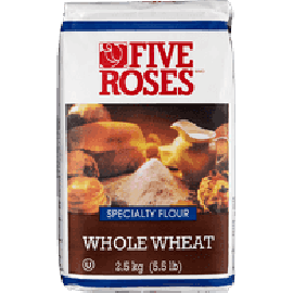 Five Roses Flour Whole Wheat 5 kg