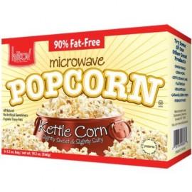 Kitov Microwave Kettle Corn Popcorn 6 3.5 oz bags 21 oz 594g