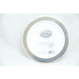 LILIAN MAGNIFICENCE 7.25 PLATES 10/PK