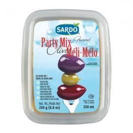 Sardo Gourmet Party Mix Olives 250ml
