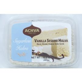 Achva Vanilla Sesame Halva Sugarless 106oz(300g)