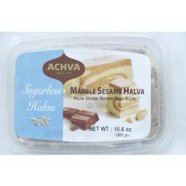 Achva Marble Sesame Halva Sugarless 106oz(300g)