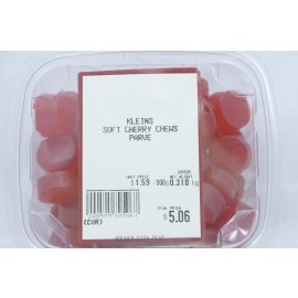 Kleins Soft Cherry Chews Parve Kosher City Package