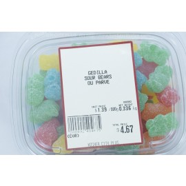 Gedilla Sour Bears Parve Kosher City Package