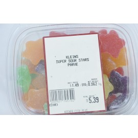 Kleins Super Sour Stars Parve Kosher City Package