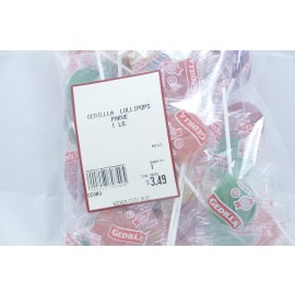 Gedilla Lollipops Parve Kosher City Bag 1 Lb