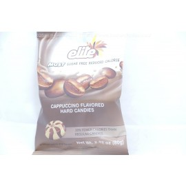 Elite Sugar Free Cappuccino Flavored Hard Candies 80g