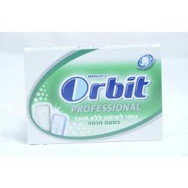 Orbit  Professional Sugar Free Spearmint Flavor Chewing Gum 10 units 14g