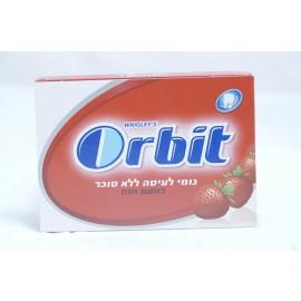 Orbit Sugar Free Strawberry Flavor Chewing Gum 10 units 14g