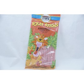 Strawberry Falvored Sour Sticks