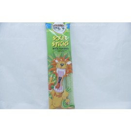 Paskesz Apple Flavored Sour Sticks 50g