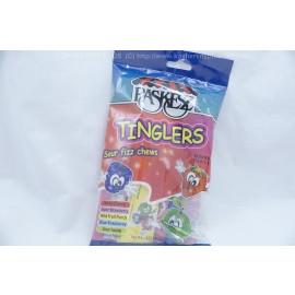 Paskesz Tinglers Sour Fizz Chews Multiflavors 120g