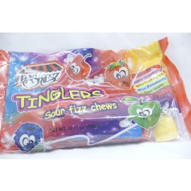 Tinglers Sour Fizz Chews Multiflavors