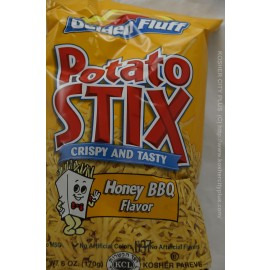 Golden Fluff Honey BBQ Flavor Potato Stix 170g