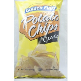 Golden Fluff Classic Potato Chips 141g