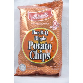 Bloom's Bar-B-Q Ripple Potato Chips 141g