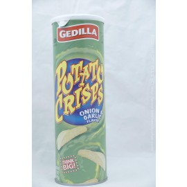 Gedilla Potato Crisps Onion Garlic 142g