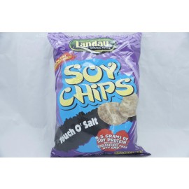 Landau Soy Chips Touch O' Salt 3.5oz