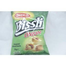 Osem Bissli Onion Flavored Wheat Snacks 70g