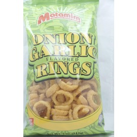 Matamim Onion Garlic Flavored Rings 142g