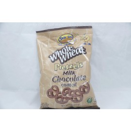 Whole Wheat Pretzel Milk Chocolate Coated