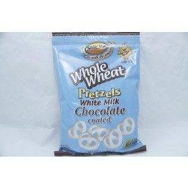 Whole Wheat Pretzel White Milk Chocolate Coated