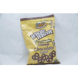 Whole Wheat Pretzel Premium Chocolate Coated