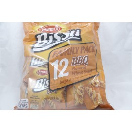 Osem Bissli Family Pack BBQ Wheat Falovored Snacks 12 bagsx35g