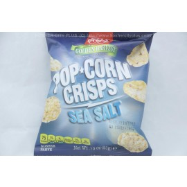 Paskesz Pop Corn Crisps Sea Salt 75oz