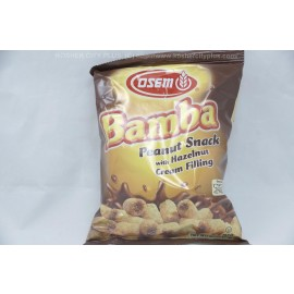 Osem Bamba Peanut Snack with Hazelnut Cream Filling 60g
