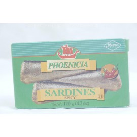 Phoenica Sardines Spicy 120g