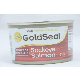 Gold Seal Saumon Sockeye 213g